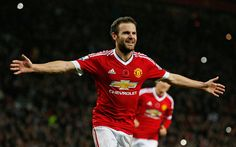 Download wallpapers Juan Mata, 4k, Manchester United, Spanish footballer, Premier League, England, football