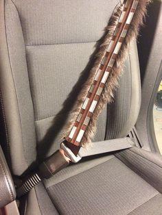 Kostenloser Versand StarWars inspiriert Chewbacca Sitzbezüge Gürtel, Rucksack Strap Covers oder Geldbörse Strap Cover