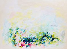 abstract painting by Megan Carty
