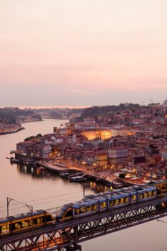 Crossing the Douro River | Porto, Portugal