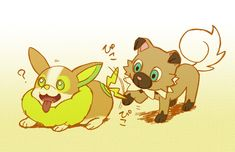 Dog Pokemon, Pikachu, Pokemon Eevee Evolutions, Cute Pokemon Pictures, Gotta Catch Them All, Animation Reference, Character Drawing, Digimon, Animal Drawings