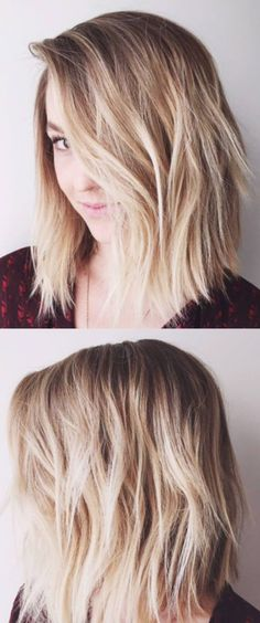 41 Lob Haircut Ideas For Women - HAIR TALK: THE LOB -What is a lob? Step by step easy tutorials on how to cut your hair for a lob haircut and amazing ideas for layered, and straight lobs. Ideas for lobs with bangs, thick hair, wavy and thin hair. For long hair and medium hair. For round faces and sharp features - thegoddess.com/lob-haircut-ideas-women