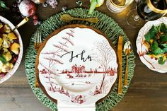 Setting the Table for the Holidays | Rue