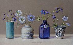 Pen And Watercolor, Watercolor Paintings, Still Life Oil Painting, Roman Art, Still Life Art, Paintings I Love, Art Floral, Bottle Art, Art World