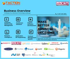 Taction is a US and India based CRM solution partner and IT services provider. Taction offers high-class software solutions across the globe. Engineering Management, Management Development, It Service Provider, Business Intelligence, Information Technology, Health Care, Software, Relationship, Content