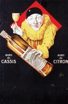 * Suze Gentiane / ILLORY / Avec du Cassis. Avec du Citron