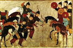 Historic Mongol archery