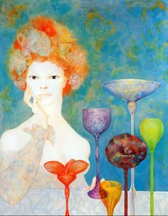 The Guardian Sources, Leonor Fini, 1965
