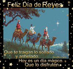 SUEÑOS DE AMOR Y MAGIA: Feliz día de Reyes