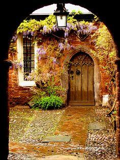 Mysterious Door by Charmiene Maxwell-batten via Redbubble