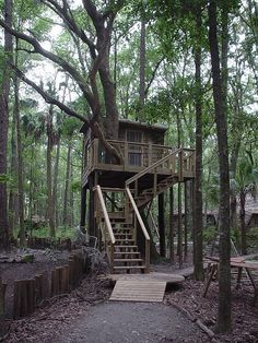 Brunswick, GA - The Hostel in the Forest. The cost is $25/person per night- eco-friendly  facilities