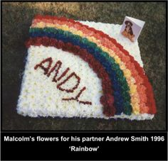 LGBT Rainbow for Andy.  #LGBT  http://www.lgbthistorycornwall.blogspot.com