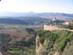 View of the countryside - Ronda, Spain