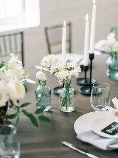Minimalist Details Tied Together the Wedding Reception Dining Table Decor Winter Wedding Flowers, Floral Wedding, Wedding Bouquets, Our Wedding Day, Wedding Reception, Green Engagement Rings, Surprises For Husband, Red Photography, Seasonal Flowers