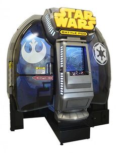 The First Star Wars Arcade Game In 14 Years Will Have You Searching For Quarters Check out the Video! http://www.youtube.com/watch?v=lNIrrDwBCYE