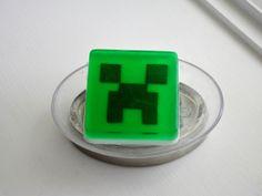 Minecraft style Soap by StayHomeCupcake on Etsy, $6