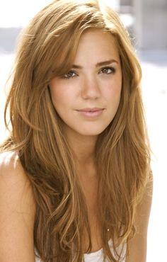 Tamara Camille, honey blonde hair color