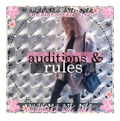 """Auditions & Rules"" by the-preppy-tippers ❤ liked on Polyvore featuring art, preppyauditions and preppyrules"