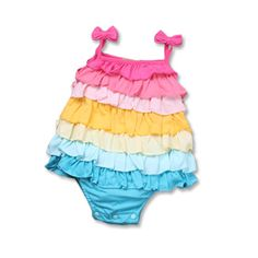 >> Click to Buy << cotton ruffle fashion 2017 toddler girl rainbow baby infant one piece outfits baby girls bodysuits #Affiliate