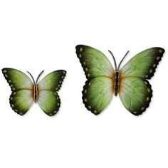 NOVICA Steel wall art (Pair) ($53) ❤ liked on Polyvore featuring home, home decor, wall art, novica, handmade home decor, tropical wall art, butterfly home decor and colorful wall art