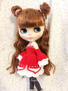 CROCHET PATTER pdf  Blythe doll dress China style