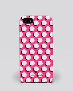 kate spade new york iPhone 5 Case - Newsprint Dot   Bloomingdale's