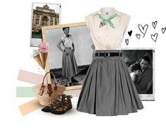 Audrey Hepburn's classic Roman Holiday