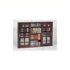 Unique Cd Dvd Cabinet with Glass Doors