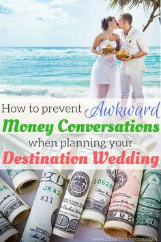 Awesome way to avoid uncomfortable financial conversations with destination wedding guests while ensuring everything is professionally handled and paid for. Whew, relief, that's one big stressor I just don't need! Thanks Bliss Honeymoons for these perfect tips for how to prevent awkward money conversations when planning your destination wedding. It's easy to see why you're voted best destination wedding and honeymoon planner by hundreds of happy couples!