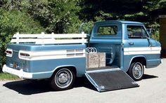 Caminhões e Utilitários by Daniel Alho / 1961 Chevrolet Corvair Greenbrier Rampside