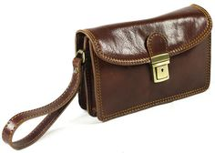 Italian leather Men's Travel Organizer Wrist Bag £69.99 #madeinitaly