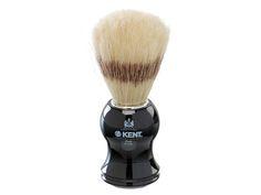 Kent Mens Black Socket Pure Bristle Badger Effect Shaving Shave Hair Brush Mens Shaving Cream, Shaving Set, Shaving Brush, Best Shaver For Men, Kent Brushes, Boar Bristle, Hair Removal Cream, Shaved Hair