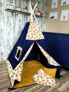 KiziaMizia - BlueKitty Namiot tipi wigwam; Namiot indiański + mata + 3 poduszki - różne warianty, zestawy Toddler Bed, Trending Outfits, Unique, Handmade Gifts, Etsy, Vintage, Home Decor, Child Bed, Kid Craft Gifts