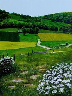 Summer Green by Paula Oakley   Artgallery.co.uk