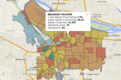 Portland Neighborhoods by the Numbers 2016: The City | City & Region | Portland Monthly