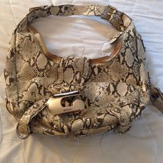 Guess purse Snakeskin design Guess Bags Shoulder Bags