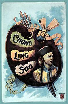 Chung Ling Soo - 1910 Magic Poster