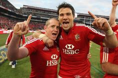 Mike Phillips and Shane Williams were among 15 Welsh Lions in 2009