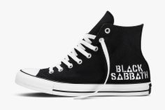 Converse All Star Chuck UK 11 UE 45 Black Sabbath Ozzy Ozbourne Limited Edition