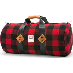 Green And Black Plaid Moose Buffalo Travel Carry-on Luggage Weekender Bag Overnight Tote Flight Duffel In Trolley Handle