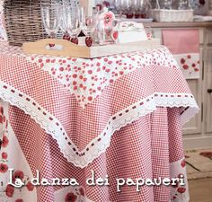 Dressing Home Angelica Home & Country La danza dei papaveri