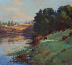 Loleta, February Morning oil on panel 12x9 I'm posting several landscapes I've painted over the past six months. Humboldt County had a ver...