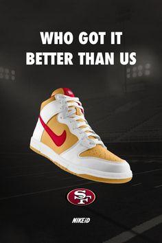 49ers custom kicks Football Is Life 248e01c71d