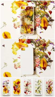 DIY Pressed Flower iPhone case