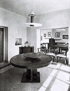 Robert Mallet-Stevens #malletstevens #interior #table #design