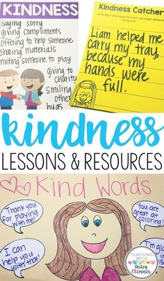 Kindness lessons, re