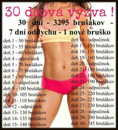 30 denní výzva ! Body Fitness, Fitness Tips, Fitness Motivation, Health Fitness, 30 Day Challenge, Workout Challenge, Stretching Exercises, Training Plan, Nova