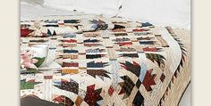 Coordinated Fabrics Will Also be Stunning in This Quilt! Scraps of all sizes will find a place in this classic quilt. Go through your stash and pull out a combination of your favorite colors. Once completed, you'll have a quilt to treasure for years to come. The Bear Paw block lends itself to scraps, as …