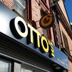 28degreesdesign - Exterior Signage Design - Otto's, Liverpool