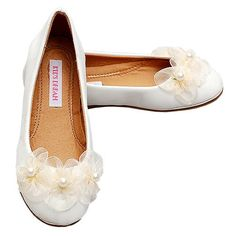 Flower Girl Shoes - The dress and shoes have been purchased...no changing!